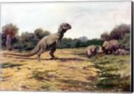 T Rex Posture Fine-Art Print