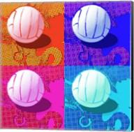 Volleyball Pop Fine-Art Print