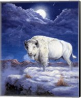 White Buffalo Fine-Art Print