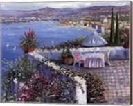 Patio With Ocean View Fine-Art Print