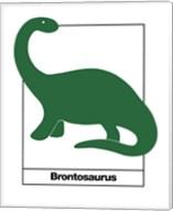 Brontosaurus Fine-Art Print