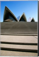 Low angle view of an opera house, Sydney Opera House, Sydney, New South Wales, Australia Fine-Art Print