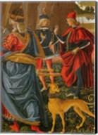 Saint Bernardino saves a dead man Pintoricchio Fine-Art Print