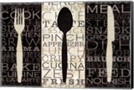 Kitchen Words Trio Fine-Art Print