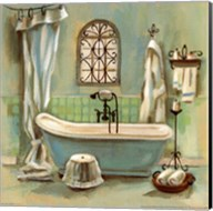 Glass Tile Bath I Fine-Art Print