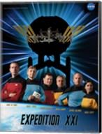 Expedition 21 Star Trek Crew Poster Fine-Art Print