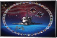 Space Shuttle Discovery Tribute Poster Fine-Art Print