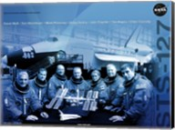 STS 127 Mission Poster Fine-Art Print