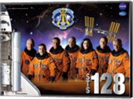 STS 128 Mission Poster Fine-Art Print