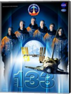 STS 133 Mission Poster Fine-Art Print