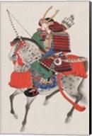 Samurai on horseback Fine-Art Print
