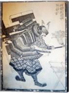 Samurai Shield Fine-Art Print