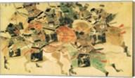 Samurais on horseback Fine-Art Print