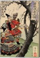 Yoshitsune with Benkei Fine-Art Print
