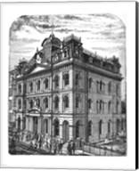General Post Office 1884 Toronto Canada Fine-Art Print