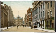 Postcard of Toronto street and post office, Toronto, Canada Fine-Art Print