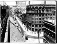 Yonge Street, looking North from Customs House Fine-Art Print
