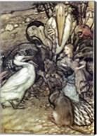 Alice in Wonderland, But who has won Fine-Art Print