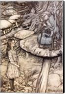 Alice in Wonderland, Advice from a Caterpillar Fine-Art Print