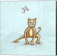 Yoga Cat I Fine-Art Print