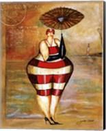 Baigneur de Soleil II (with umbrella) Fine-Art Print