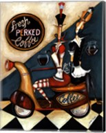 Fresh Perked Coffee Fine-Art Print