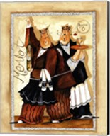 Wine & Roses IV Fine-Art Print