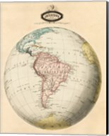 Map of South America Fine-Art Print