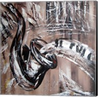 Abstract Saxaphone Fine-Art Print