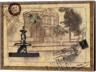 Small postcard from the Villa II Fine-Art Print