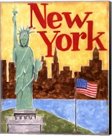 New York (A) Fine-Art Print