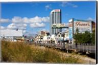 Boardwalk Stores, Atlantic City, New Jersey, USA Fine-Art Print