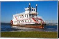 Paddle Steamer on Lakes Bay, Atlantic City, New Jersey, USA Fine-Art Print