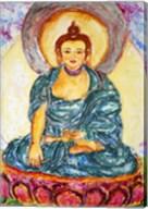 Meditating On A Lotus Fine-Art Print