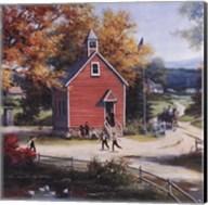 Country Schoolhouse Fine-Art Print