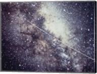 Echo Satellite Trail  In Milky Way Fine-Art Print