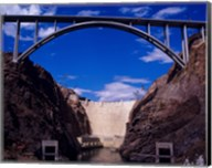 Hoover Dam with Bypass from Reclamation Fine-Art Print