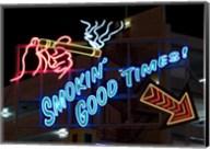 Old Motels and Historic Neon Art, Las Vegas Fine-Art Print