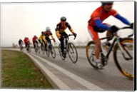 Military Cyclists in pace line Fine-Art Print