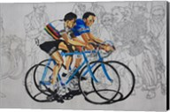 Murales coppi bicycles Fine-Art Print