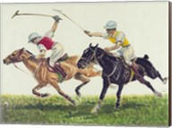 Polo action Fine-Art Print