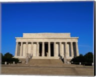 Facade of the Lincoln Memorial, Washington, D.C., USA Fine-Art Print