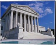 Facade of the U.S. Supreme Court, Washington, D.C., USA Fine-Art Print