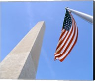 Low angle view of the Washington Monument, Washington, D.C., USA Fine-Art Print
