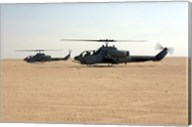 AH-1W Super Cobras Fine-Art Print