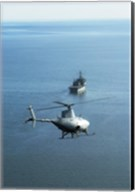 Fire Scout unmanned helicopter Fine-Art Print