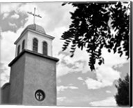 Church of Los Cerrillos Fine-Art Print