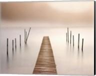 Lake Walk I Fine-Art Print