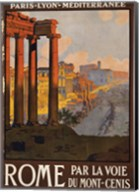 Rome Vintage Travel Fine-Art Print