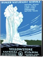 Yellowstone National Park poster 1938 Fine-Art Print